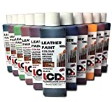 Leather Paint dye for Shoes Sneakers Jackets Leather Tooling Paint dye Water Proof