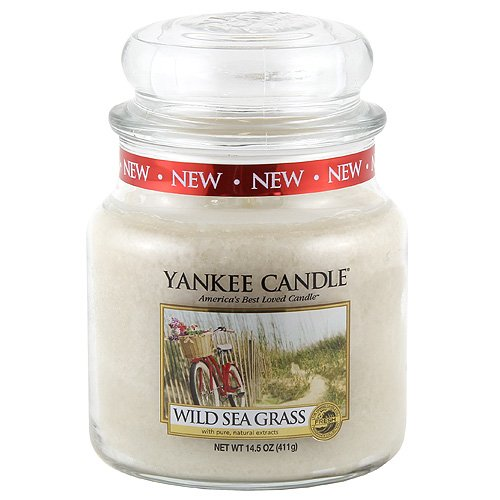 "Yankee Candle 1324485""Wild Sea Grass Mittleres Jar Kerzen"