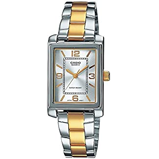 Casio Collection LTP-1234PSG-7A, Reloj para Mujer, Bicolor