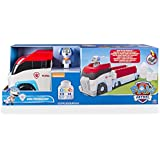 Paw Patrol Ionix Jr. Paw Patroller - vehículos de juguete (Negro, Azul, Gris, Rojo, Color blanco, Niño, Push-forward (friction) motor, Interior, Building blocks, Caja cerrada)