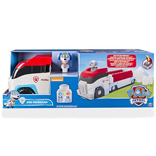 "PAW PATROL 6028697 ""Ionix Construction Paw Patroller Toy"