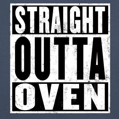 Straight Outta Oven - Herren T-Shirt - 13 Farben Navy