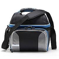 PENVEAT Shoulder Strap Lunch Bag Keep Fresh Portable Picnic Women Work Waterproof Lunch Box Insulation 14L Cooler Bags