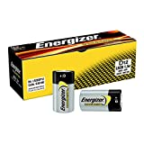 Energizer 636108 Industrial/Disposable D Alkaline Battery (Pack of 12)