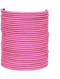 33e8af53073 Sanara 32 Plain Bangles Set for Girls and Women Casual & Party wear Fashion  Jewellery