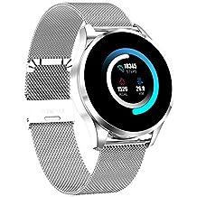Reloj inteligente Nuevo Q9, para hombres, mujeres Reloj deportivo inteligente, pantalla táctil a