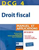dcg 4 droit fiscal 2013 2014 7e ?dition manuel et applications