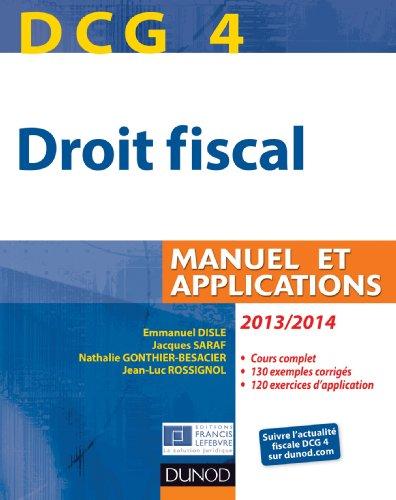 DCG 4 - Droit fiscal 2013/2014 - 7e édi...