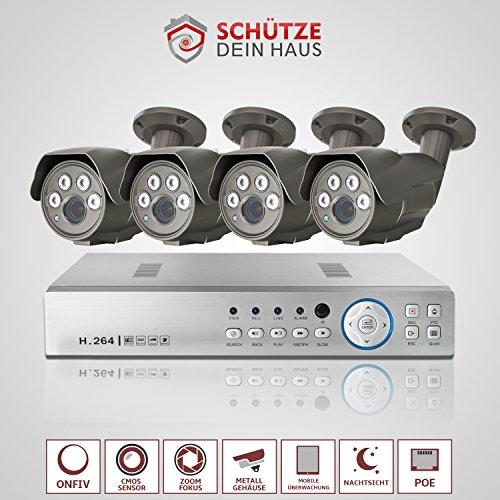 Cmara-IP-Sistema--Video-Vigilancia-4-x-Full-HD-IP-Vigilancia-2-MP-NVR-2TB-PoE-onfiv-visin-nocturna-80-m-ltima-Estndares