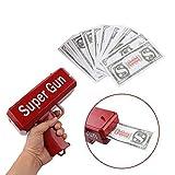 treasure-house 100pcs Cash Cannon Money Spray Geld Pistole Spielzeug Pistole für Party Spiel, Party Spaß Spielzeug Super Spra