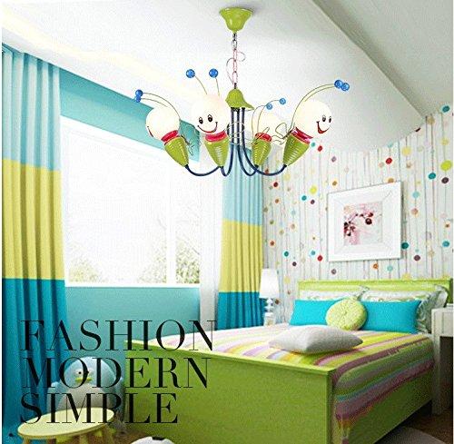 Kinderschlafzimmerlampe LED-Deckenleuchter kreative Cartoon junge Mädchen Kinder-Augen-Bee Kinderzimmer Lampen Beleuchtung ( größe : 4 ) - 2