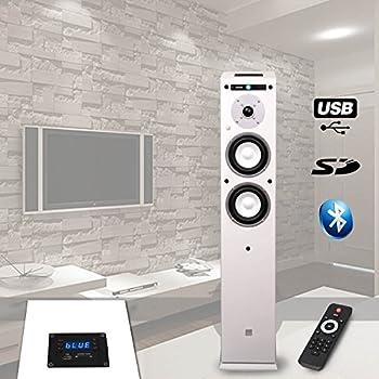 philips ntx400 enceinte bluetooth colonne avec lecteur cd port usb led d 39 ambiance nfc 1000w. Black Bedroom Furniture Sets. Home Design Ideas