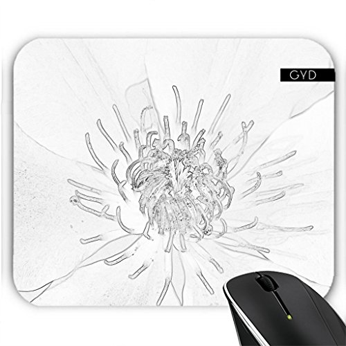Mousepad - Strauchrosen Sketchbw by pASob