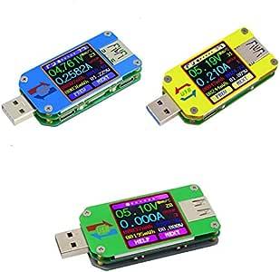 Senrise Usb Tester Um24c Um25c Um34c Usb Farbdisplay Lcd Tester Usb Spannungsprüfer Strom Mit Bluetooth Multimeter Tester Multifunktionstester Baumarkt