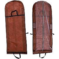 SwirlColor Caffè non tessuto antipolvere porta abiti con le maniglie