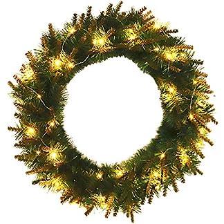 Fanspack-Weihnachtsgirlande-Tannengirlande-Girlande-Weihnachtsdeko-mit-LED-Beleuchtung-Warmwei-Weihnachts-Girlande-Beleuchtet-fr-Innen-und-Auen-Verwendbar