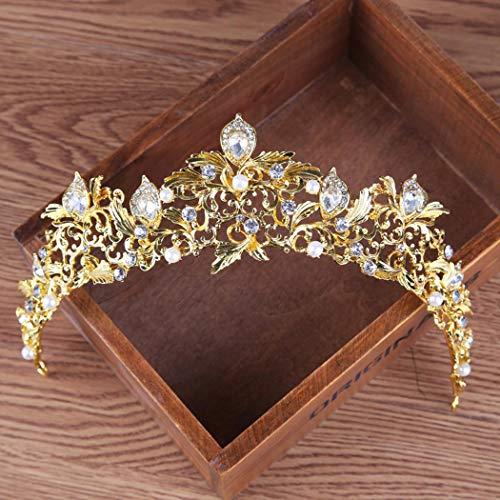 Corona de Boda dorada