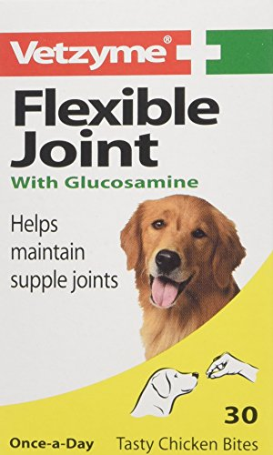 Vetzyme Flexible Joint Tablets with Glucosamine dog food supplement