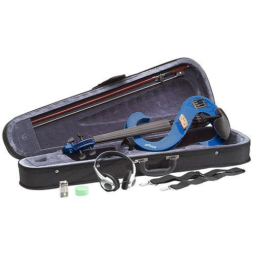 Preisvergleich Produktbild Stagg 25016279 EVN 4 / 4 TB Electric Violin,  HDPhone inkl. Soft Hülle