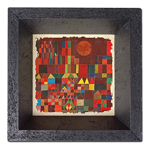 Capricci Italiani Tischdekoration (Mehrzweck) Paul Klee - Burg und Sonne