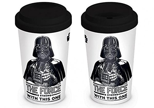 Wars Kaffee Star (Star Wars Darth Vader - The Force is strong with this one Kaffee-Becher Standard)