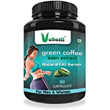 Vubasil Green Coffee 800Mg 50 Percent Cga Weight Management Product (90 Capsules, Pack Of 1)