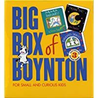 "Big Box of Boynton for Small Kids: WITH ""Barnyard Dance!"" AND ""Oh My, Oh Dinosaurs!"" AND ""Pajama Time!"""