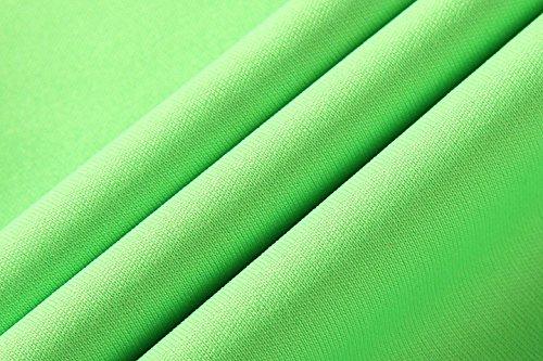 jeansian Herren Sportswear Quick Dry Short Sleeve T-Shirt LSL020 LSL146_Green