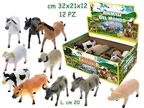 Teorema - GEO NATURE animali DELLA fattoria assortiti 12 pz. 72169