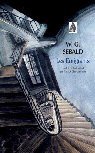 Les émigrants. Quatre récits illustrés par W. G. Sebald