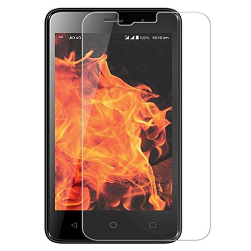 SNOOGG LYF FLAME 1 (BLACK) 4G VOLTE PHONE Branded Ultra Clear Perfect Fitting Mobile Screen Guard Screen Protector