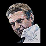 Sidney Maurer Original Portrait of Steve McQueen Men's Sweatshirt