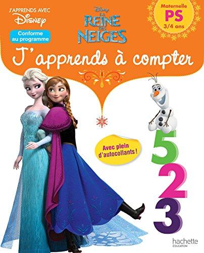 La Reine des Neiges j'apprends à compter PS par From Hachette Education