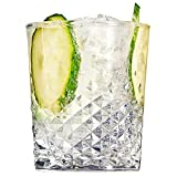 Carats Double Old Fashioned Glasses 12.3oz / 350ml - Best Reviews Guide