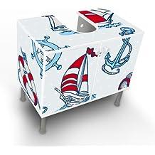 Badmöbel maritim  Suchergebnis auf Amazon.de für: badschrank maritim