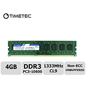 Timetec-Hynix-IC-DDR3-1333MHz-PC3-10600-Unbuffered-Non-ECC-15V-CL9-2Rx8-Dual-Rank-240-Pin-UDIMM-Desktop-Memory-Ram-Module-Upgrade