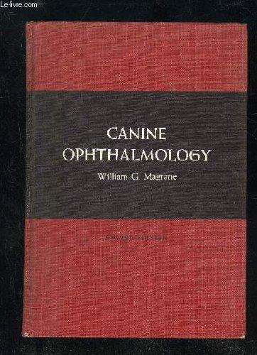 CANINE OPHTALMOLOGY