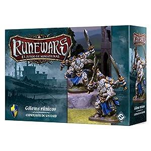 Fantasy Flight Games- Gólems rúnicos - Runewars: EL Juego de miniaturas - Español, Color (FFRWM04)
