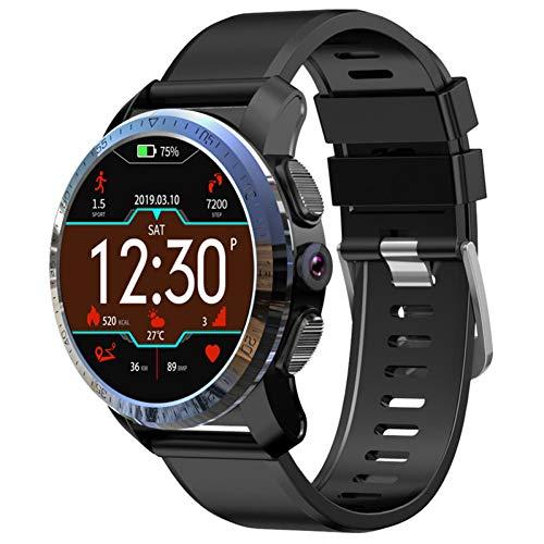 ZLOPV Fitness Armband 4G Dual-Systeme Smart Watch Android-Handy 3 GB + 32 GB 800-mAh-Akku 8MP Kamera GPS Smartwatch Männer für Samsung-Ausrüstung 8 Mp Handy