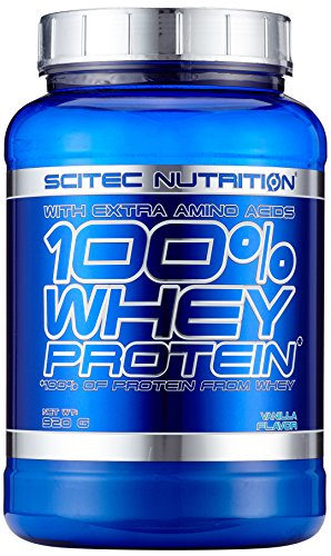 Scitec Nutrition Whey Protein Vanille, 1er Pack (1 x 920 g)