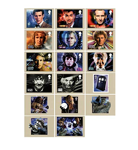 Doctor Who - 50. Jahrestag, PHQ 374 mint komplettes set -