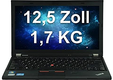 Lenovo ThinkPad X230i5–3320M 2,6GHz 3208Go olw 12m wifi BL CR Cam W7P