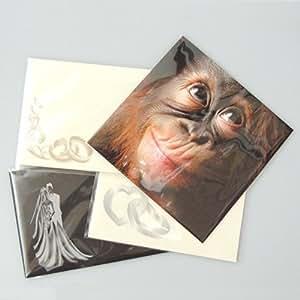 JRD Lot de 200 sachets en cellophane auto-adhésifs pour cartes de vœux format A5 ou enveloppes format C5 167 x 230 mm