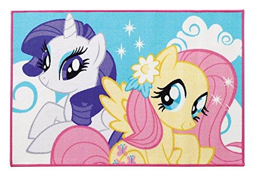 Fun House 712529Mein kleines Pony Kinder Teppich rechteckig Polyester Pastell 120x 80x 0,5cm (Pony-teppiche)