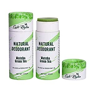 Soapworks Natural Deodorant With Matcha Green Tea, Vegan, Cruelty Free, Free of Aluminium, Parabens & Sulphates - 50 G