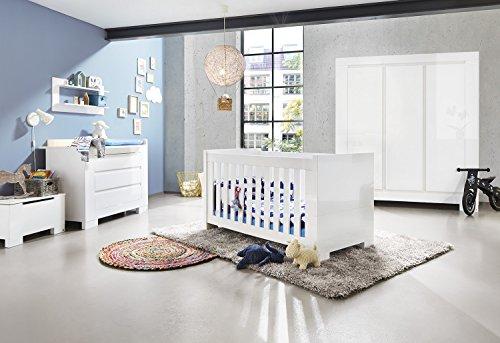 Babyzimmer einrichten:Pinolino Kinderzimmer Sky breit groß, 3-teilig