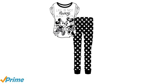 944e6e7849 Warner Bros. Womens Nightwear Pyjamas Ladies Minnie Mouse Dalmations Cotton  PJs Top Pants Set  Amazon.co.uk  Clothing