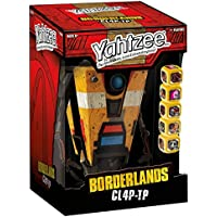 Yahtzee: Borderlands CL4P-TP Game by USAopoly
