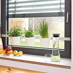 kräuterleiter pflanzenleiter VEGA Vaso da fiori orto di erbe aromatiche Vaso per fiori - bianco