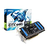 MSI NVIDIA GeForce GTX660 Grafikkarte (PCI-e, 2GB, GDDR5 Speicher, HDMI, DVI-I, DisplayPort)
